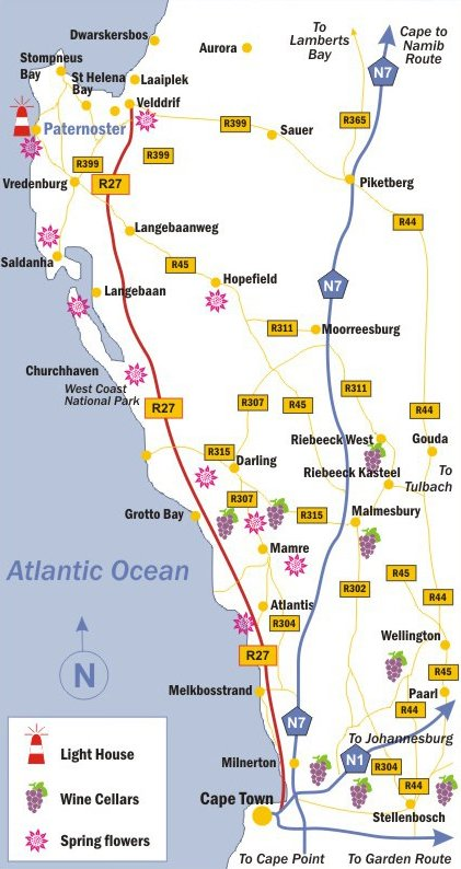 Directions to Paternoster as well as a map to find your way on eap map, hpa map, vic map, vnp map, southafrica map, wsc map, sowa map, na map, victoria map, wx map, sloc map, wa map, tas map, co map, standalone map, hra map, saudi arabia map, tcr map, kr map,